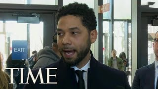 Prosecutors Drop All Charges Against Jussie Smollett In Connection With Hate Crime Claim | TIME