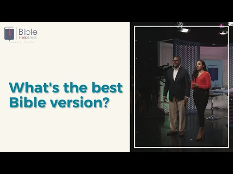 What's the best Bible version? | Bible HelpDesk