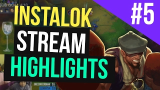 Instalok Stream Highlights #5 (League of Legends)