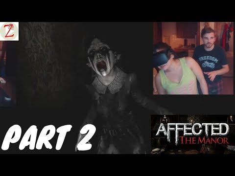 AFFECTED: The Manor | VR | Full Game Path 2