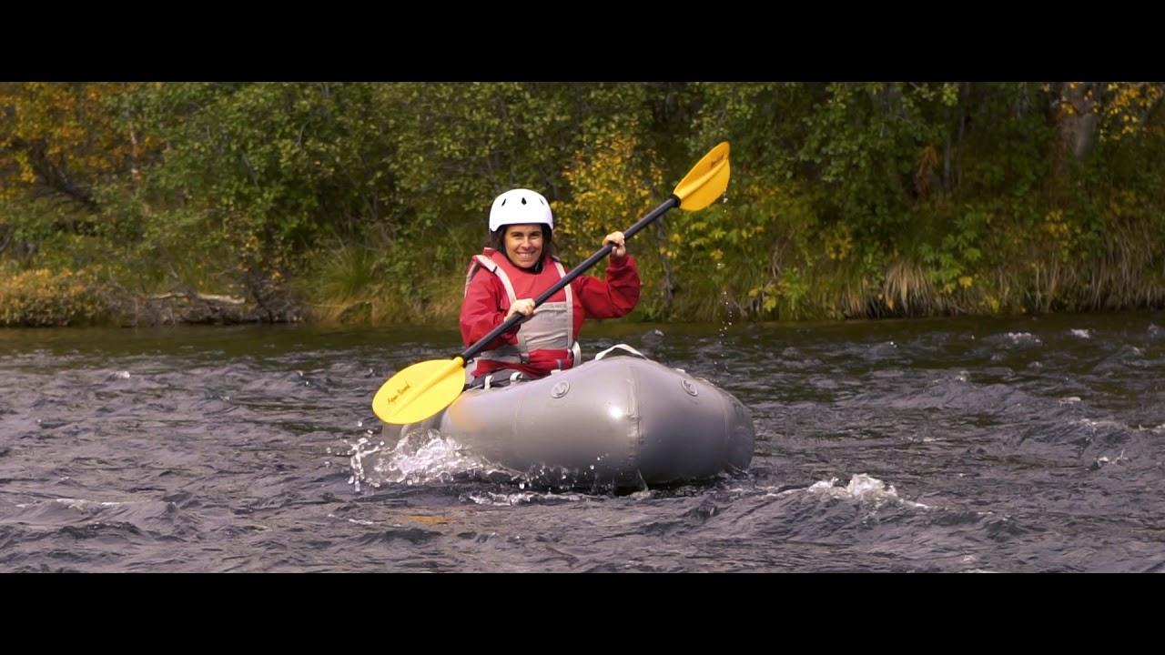 Pack Rafting - Raudøla, Valdres