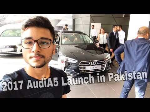 2017 Audi A5 Launch in Pakistan! Complete Review. PakistanVlog#5