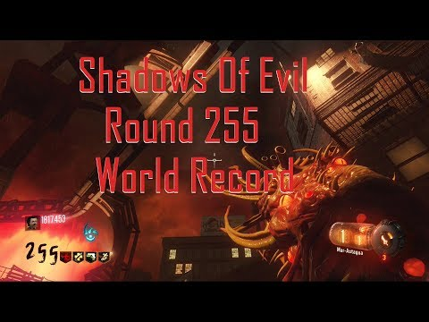 Shadows Of Evil Round 255 World Record