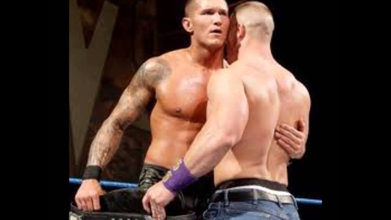 Wwe January 2013 John Cena Monday Blog John cena and Randy orton best