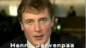 Hannu Järvenpää Winnibegistä Lukkoon. RTV.23.8.89. Westmedia Oy. Rauma.