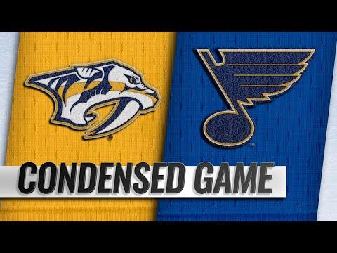 02/09/19 Condensed Game: Predators @ Blues
