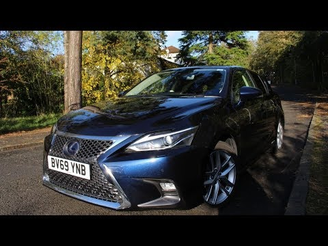 2019 Lexus CT200h Review - Driving the CT200h