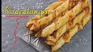 KÄSESTANGEN aus BLÄTTERTEIG SELBER MACHEN | Fingerfood & Partysnacks [Buffet Rezepte]