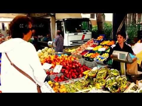 Italian Food Market Trading in Europe