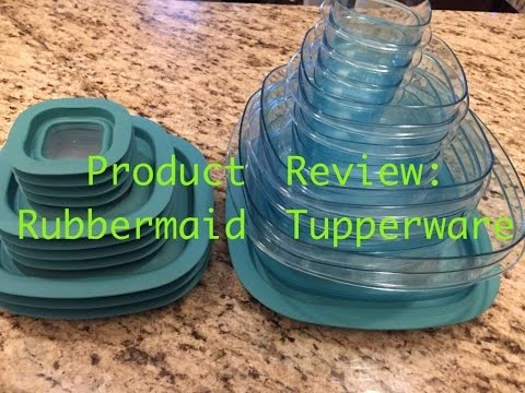 Product Review: Rubbermaid Food Storage Containers