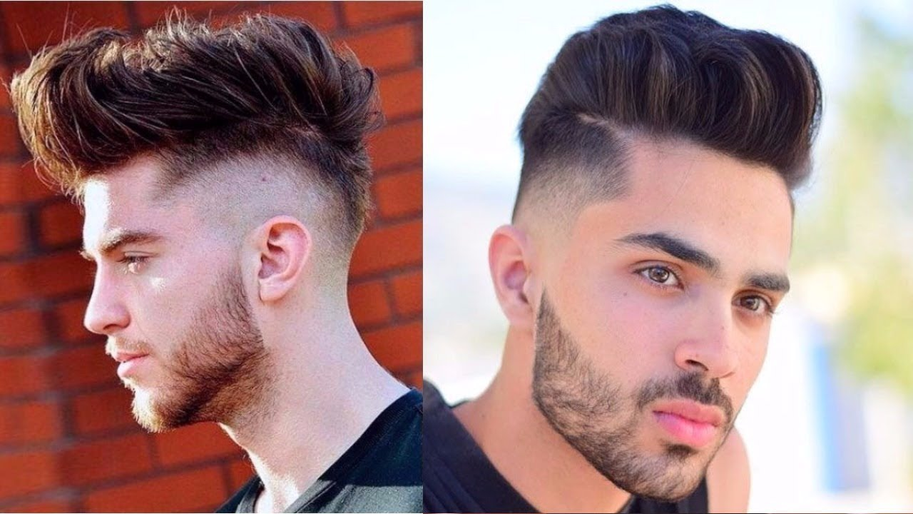 The Most Newest And Top Hairstyle For Men 2017 2018: Mens Best Popular Hairstyles Trends 2017-2018