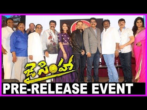 Jai Simha Movie Pre Release Event - Full...