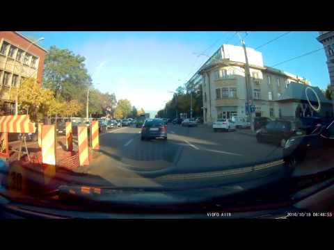 Viofo A119 1440P Capacitor Dash Cam - 2K@30fps Daylight (morning)