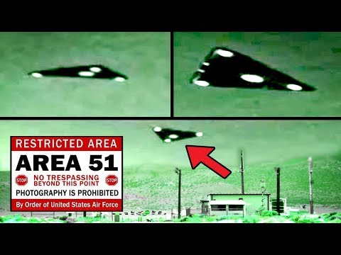 5 MYSTERIOUS VIDEOS Of ALIEN TECH At AREA 51!