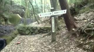 中山寺から奥ノ院ウォーク(その1:山門から4丁石)