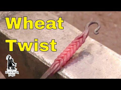 Chevron Or Wheat Twist, Forge Welding Twists