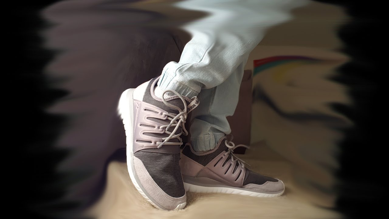 Adidas Tubular Fleece Grey