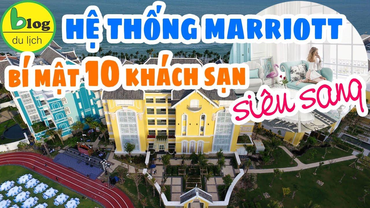 Top 10 khách sạn thuộc chuỗi Marriott Việt Nam mà ít ai ngờ tới