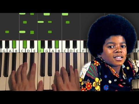 Jackson 5 - I Want You Back (Piano Tutorial Lesson)
