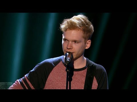 America's Got Talent 2017 Chase Goehring Singer Intro & Performance Judge Cuts S12E09