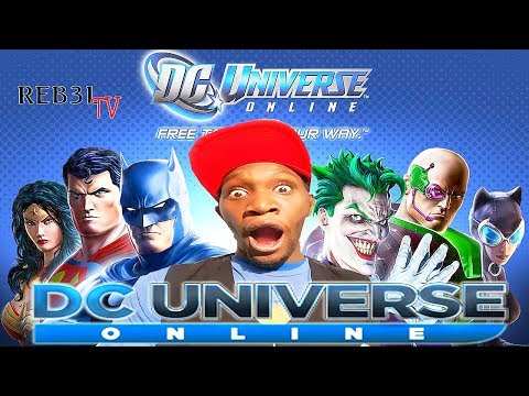 DC UNIVERSE ONLINE! SAVING THE WORLD BEFORE WORK! ROAD TO 2k!!! REB3LTV!!!