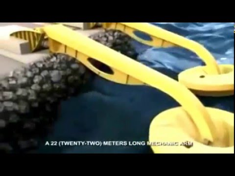 Pembangkit Listrik Tenaga Gelombang Laut Pltgl Youtube