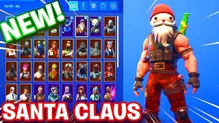 NEW Fortnite CHRISTMAS SANTA CLAUS SKIN UNLOCKED! - SGT. WINTER STAGE 2 GAMEPLAY (Fortnite Season 7)