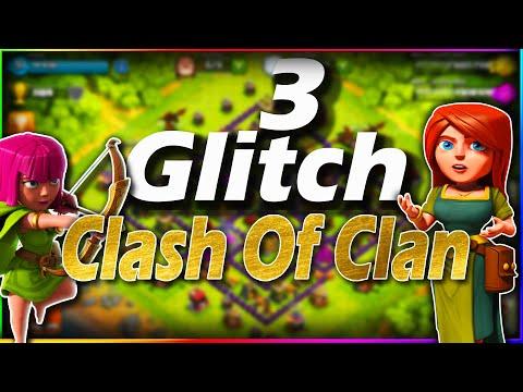 3 GLITCH CLASH OF CLAN