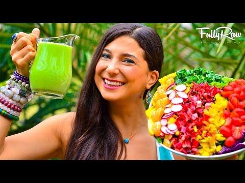 FullyRaw Cucumber Mint Dill Salad Dressing!
