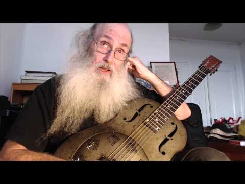 Slide Guitar Blues Open D Boogie Woogie Guitar Lesson On My National Steel NPB12 Resonator Guitar!