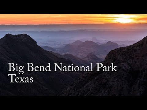Landscape Photography - Big Bend Texas