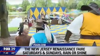 New Jersey Renaissance Faire 2019 Fox 29 News Segment
