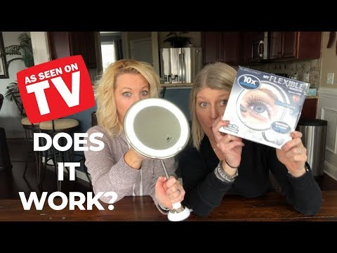 My Flexible Mirror Review AS SEEN ON TV