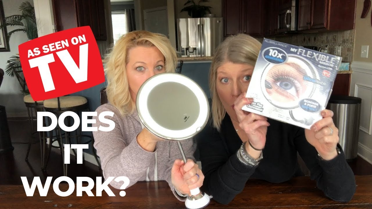 my flexible mirror review as seen on tv youtube. Black Bedroom Furniture Sets. Home Design Ideas