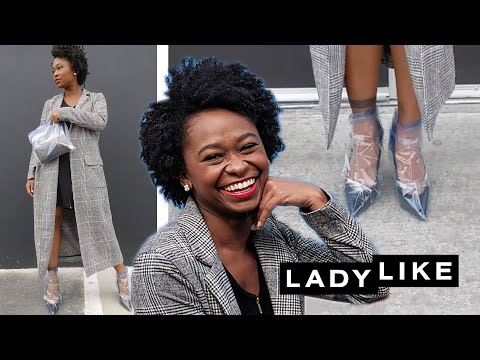 We Try The Rihanna Plastic-Wrapped Shoes!• Ladylike