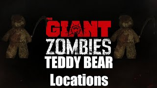Black Ops 3 the Giant Teddy Bear Locations