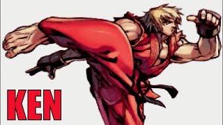 Super Street Fighter 2: Turbo Revival (GBA) - Ken Arcade Mode / Playthrough (Game Boy Advance)