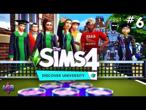 COLLEGE DROP OUTS💀🖤 // THE SIMS 4   MODDED #1 from YouTube · Duration:  34 minutes 45 seconds
