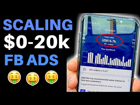 (Day 5) SCALING To $20,000 With Facebook Ads | Shopify Dropshipping 2019 thumbnail