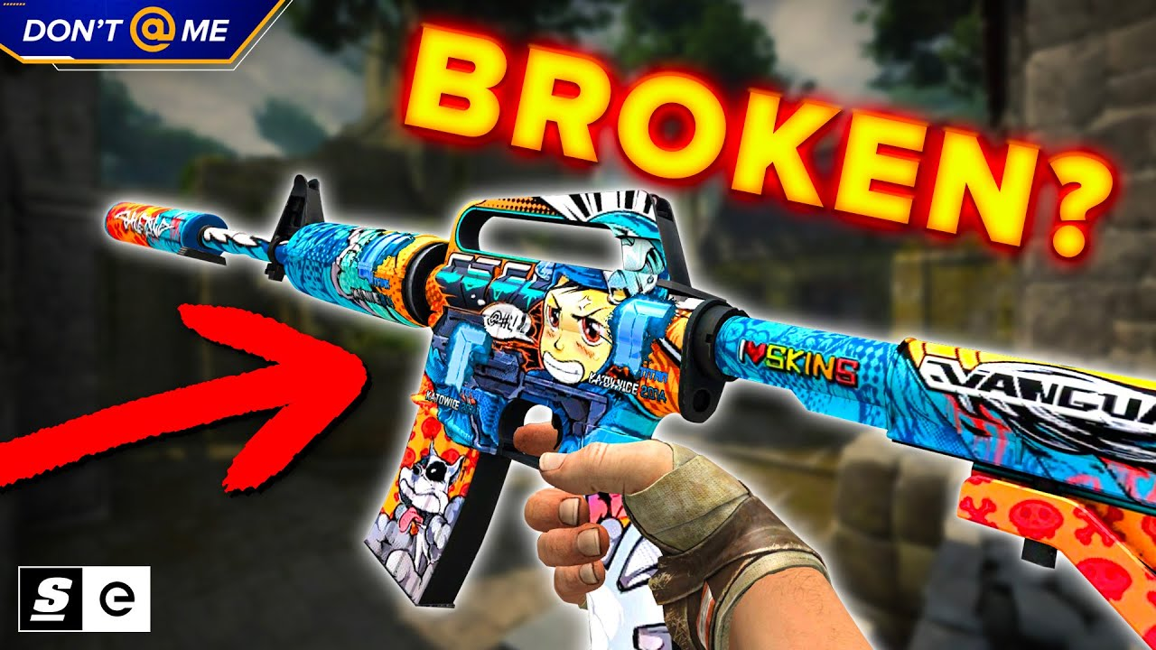 Is The M4A1-S Broken Now?