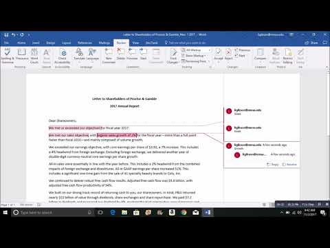 Coding Textual Data with Word & Excel