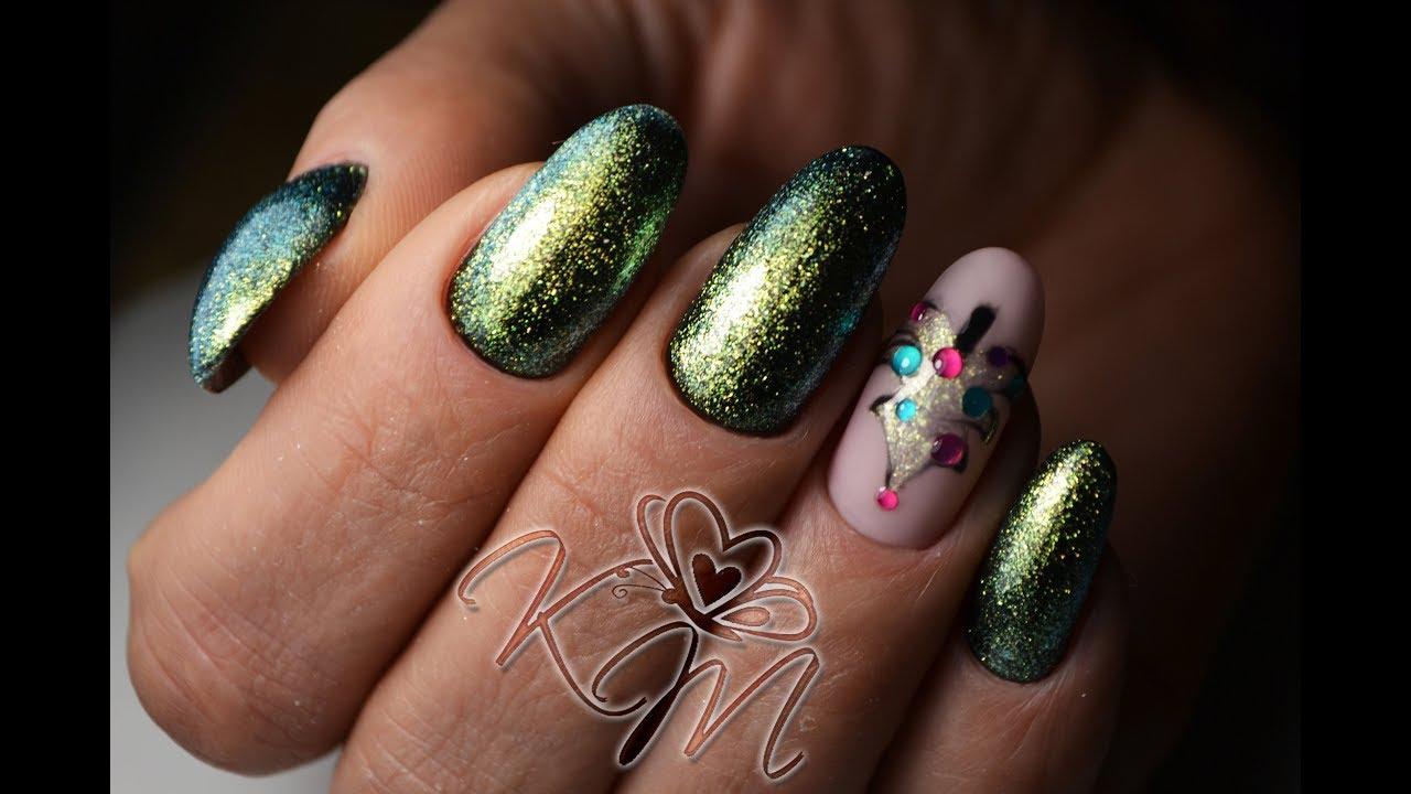 Бархатные Ногти Фото Дизайн