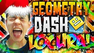 Geometry Dash! CANCIONES INCREÍBLES, NIVELES NAVIDEÑOS y MOTIVACIÓN!! #20 - TheGrefg