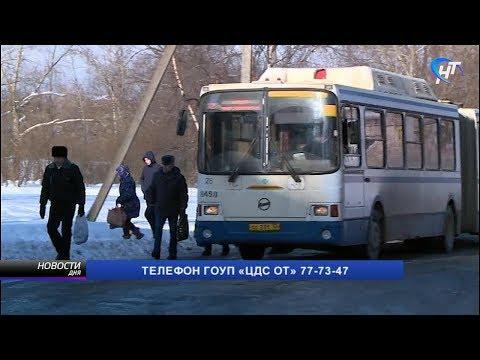 Новгородцы жалуются на расписание движение автобусов №12 и №101