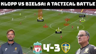 Tactical Analysis: Liverpool 4-3 Leeds United | Jurgen Klopp and Marcelo Bielsa's Tactical Battle |