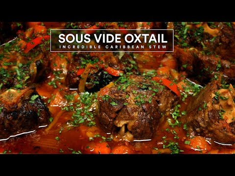 Sous Vide OXTAIL Beef Stew!
