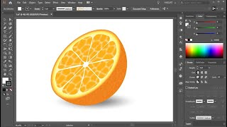 Adobe Illustrator Portakal Oluşturma