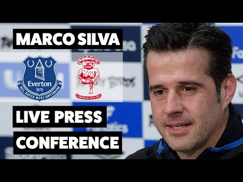 LOOKMAN TO START? PLUS TRANSFER WINDOW TALK | EVERTON V LINCOLN CITY PRESS CONFERENCE