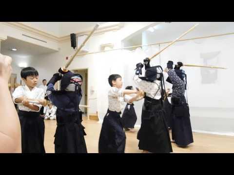 2017 Kendo Iaido Karate Demo in Cupertino