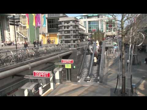 Shopping centre Rotterdam koopgoot lijnbaan created by PCUVideo Personal Close-up video
